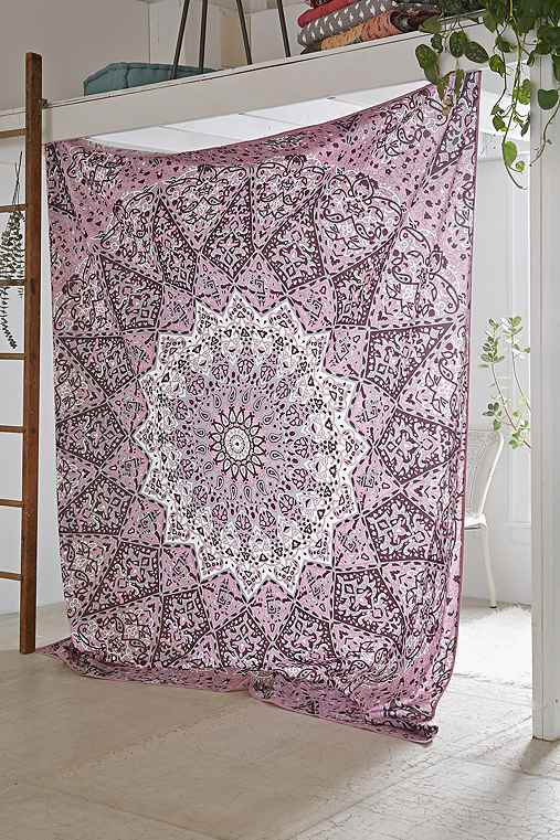 Magical Thinking Danie Medallion Tapestry,PURPLE,ONE SIZE