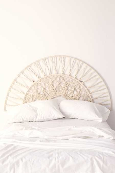 Magical Thinking Sol Macrame Headboard