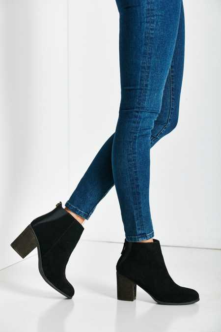 Short Suede Boot