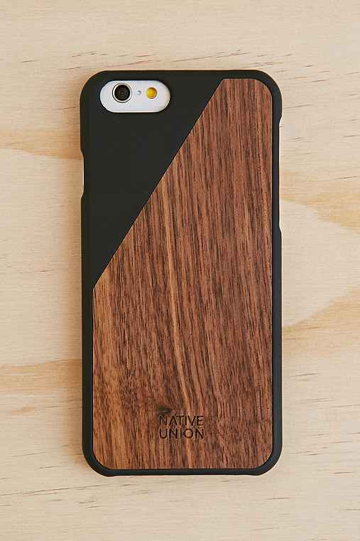 Native Union Clic Wooden iPhone 6/6s Case,BLACK,ONE SIZE