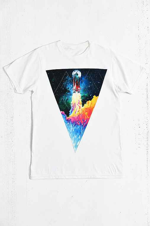Design By Humans Take Off Tee - Urban Outfitters