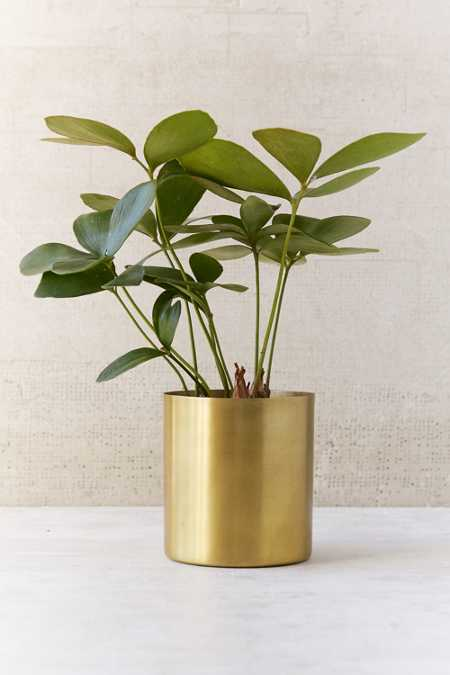 Small Mod Metal Planter