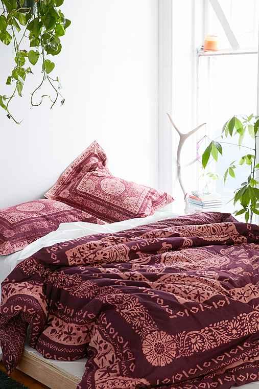 Magical Thinking Kami Woodblock Comforter Urban