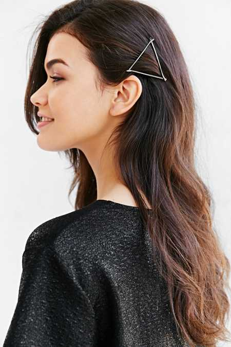 Brilliant Bobbie Triangle Barrette