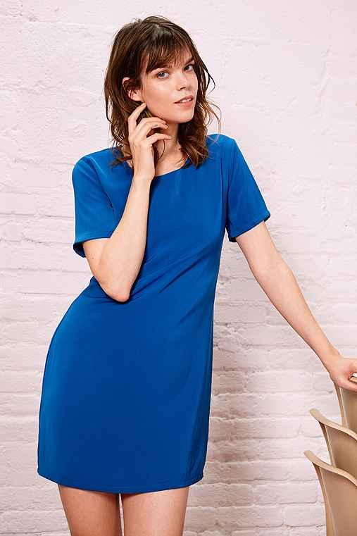 Kimchi Blue Woven A-Line Tee Dress