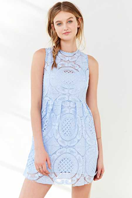Kimchi Blue Medallion Fit + Flare Dress