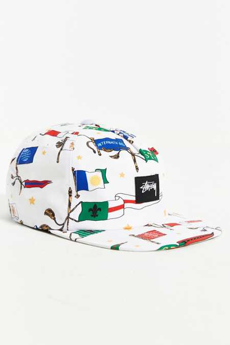 Stussy Flags SU-15 Snapback Hat
