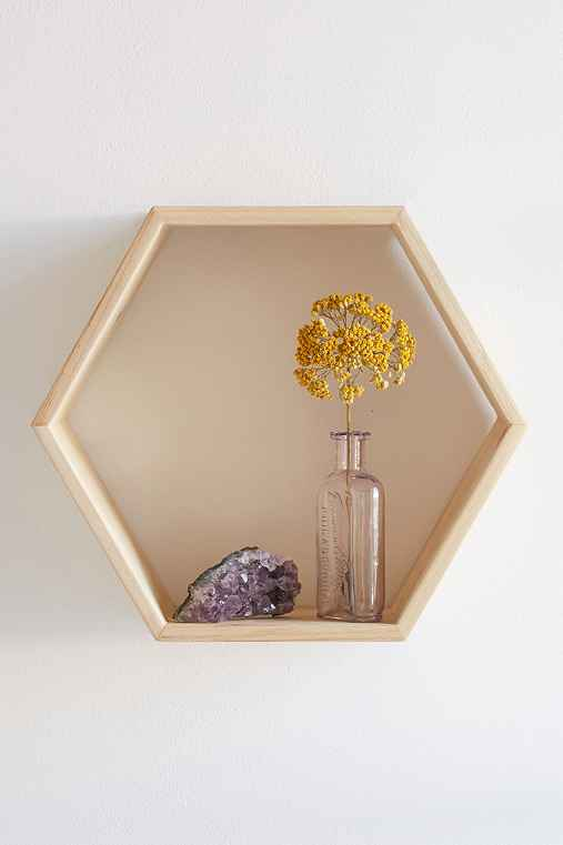 Honeycomb Wood Shelf - Urban Outfitters - photo#6