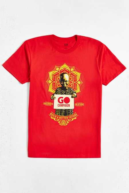 OBEY Go Campaign Tee