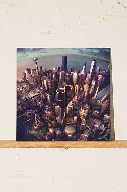 Foo Fighters - Sonic Highway LP,BLACK,ONE SIZE