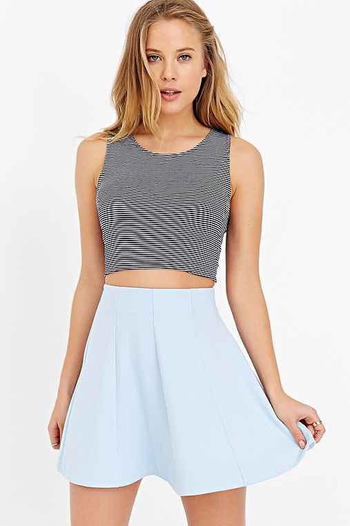 Kimchi Blue Flirt With Me Seamed Skirt