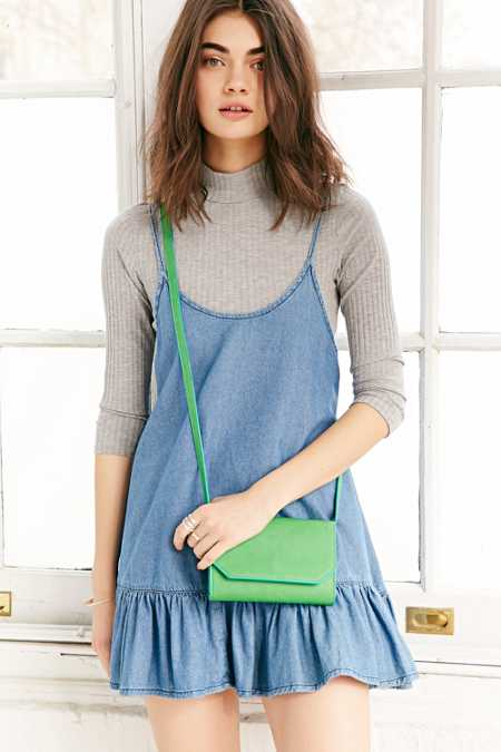 Kimchi Blue Mini Envelope Shoulder Bag