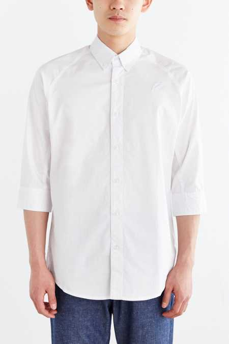 Publish Gerrit 3/4-Sleeve Button-Down Shirt