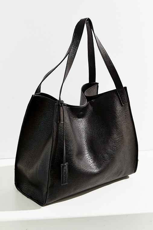 Silence + Noise Modern Tote Bag,BLACK,ONE SIZE