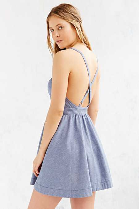 Kimchi Blue April Fit + Flare Dress