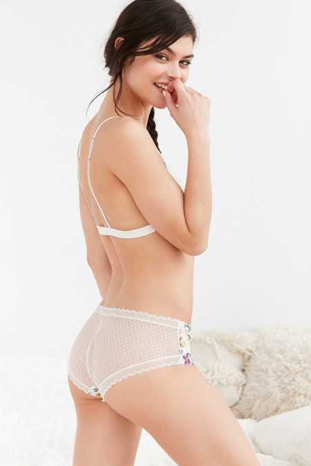 Out From Under Sofia Geo Lace-Back Undie