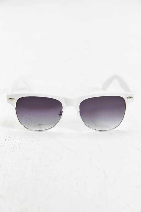 Fellini Matte Round Sunglasses