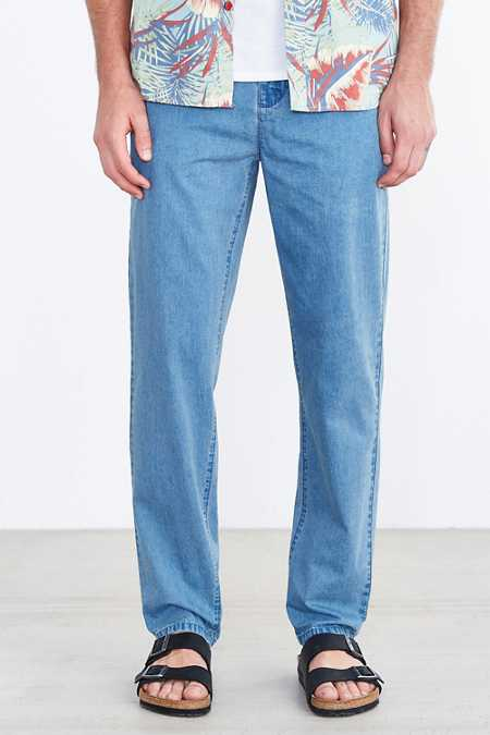 Hawkings McGill Washed Skinny Stretch Denim Chino Pant