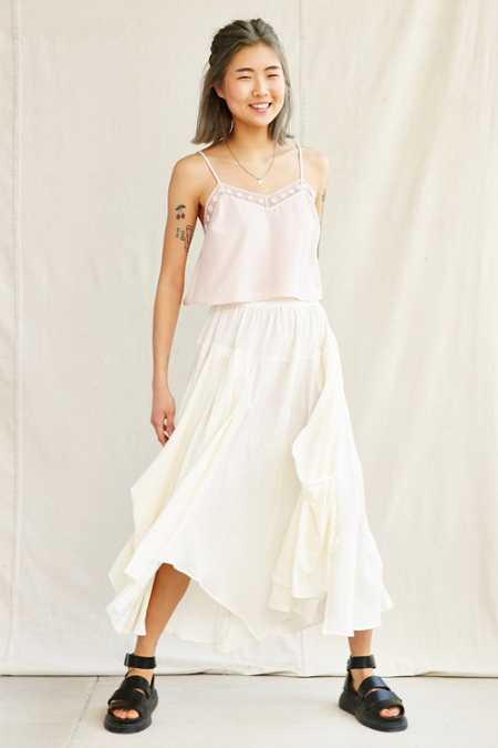 Urban Renewal Remade Gathered Maxi Skirt
