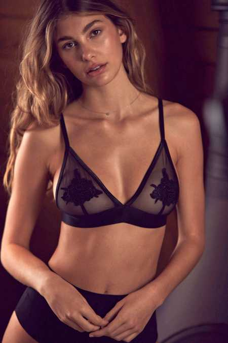 Out From Under Serena Applique Bra