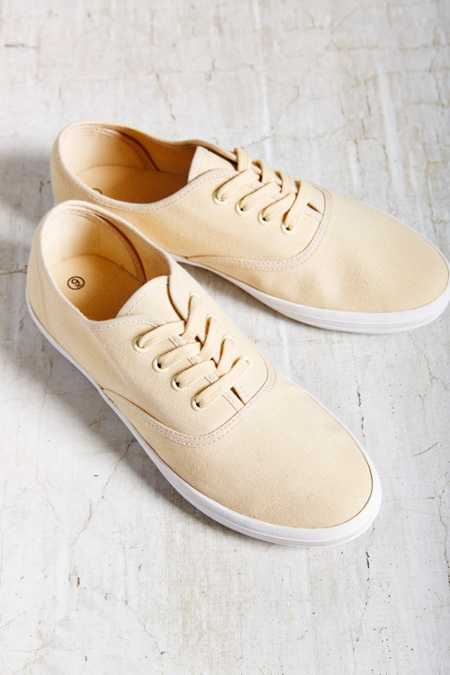 Canvas Lace-Up Sneaker