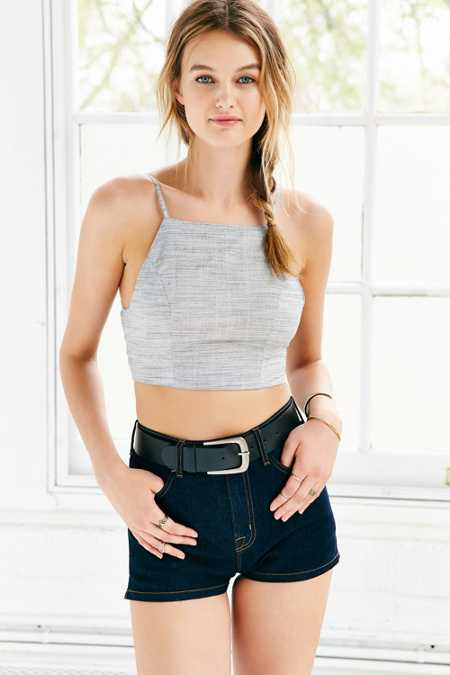 Tela Square-Neck Cropped Cami