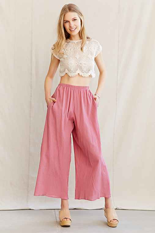 Urban Renewal Remade Gauze Pull-On Pant