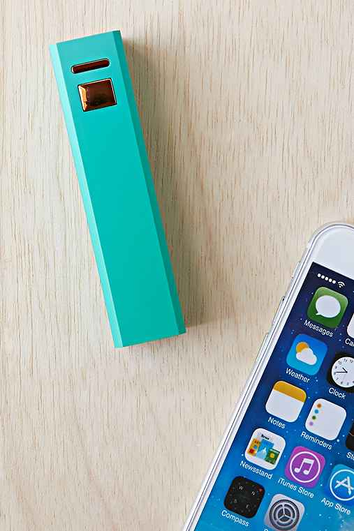 Portable Phone Charger,TURQUOISE,ONE SIZE