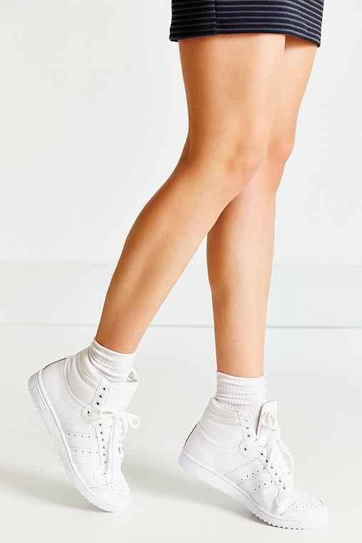 adidas Top Ten Hi Sneaker,WHITE,W 6/M 4.5