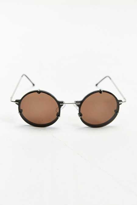 Spitfire Infinity Steel Frame Round Sunglasses