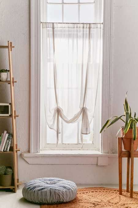 Plum & Bow Chloe Gauze Draped Shade Curtain