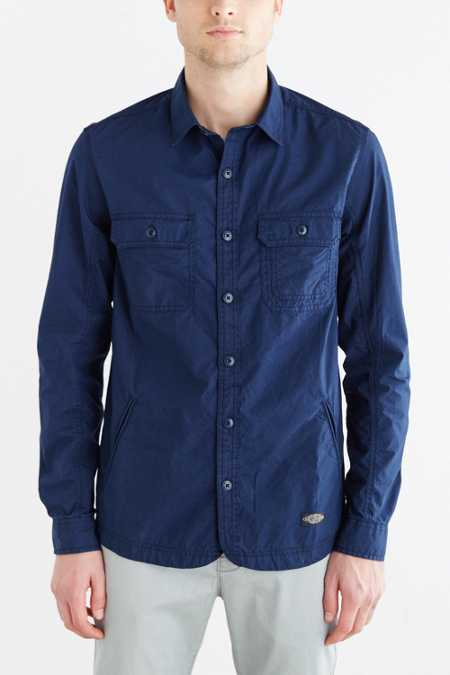 CPO Curved Hem Shirt Jacket