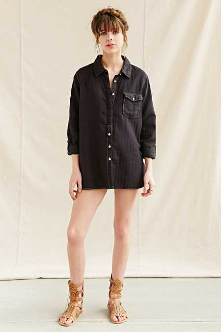 US Rags Oxford Shirt Tunic