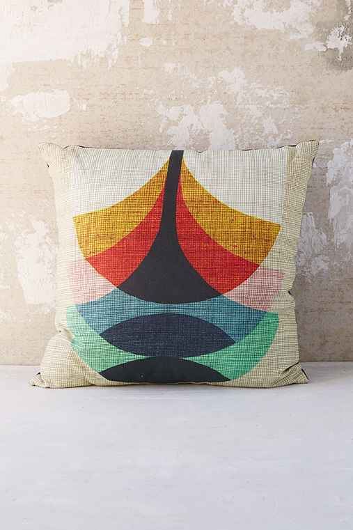 Throw Pillows Urban Outfitters : Inaluxe Press Together Pillow - Urban Outfitters