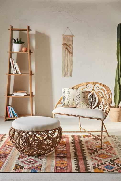 Rope lace tiara chair urban outfitters for Urban boho style furniture
