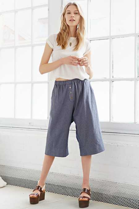 Faircloth & Supply Linen Fisherman Pant