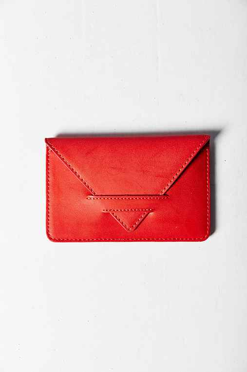 Simple Cardholder Wallet,RED,ONE SIZE