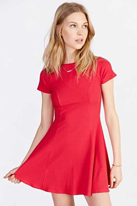 BDG Jackie Flare Tee Dress
