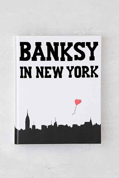 Banksy In New York By Ray Mock,ASSORTED,ONE SIZE
