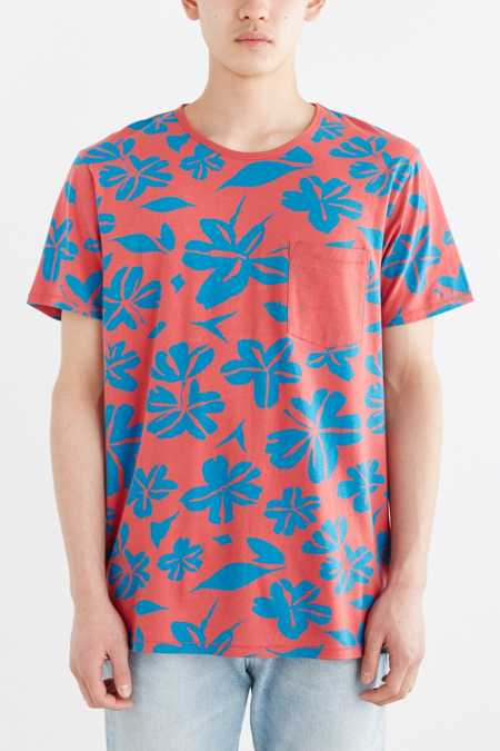 BDG Clifton Tropical Standard-Fit Tee