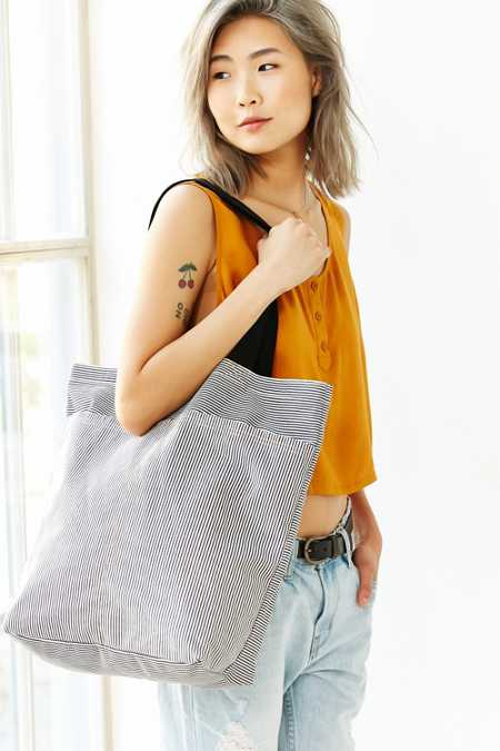 BDG Multi Pocket Tote Bag