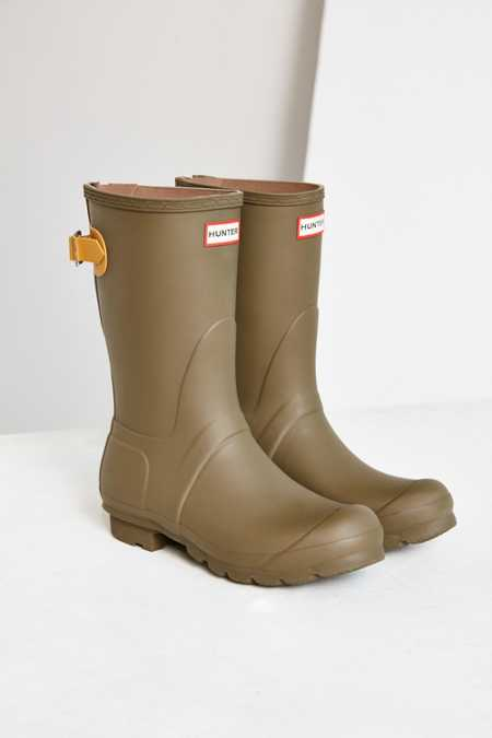 Hunter Original Adjustable Back Short Rain Boot