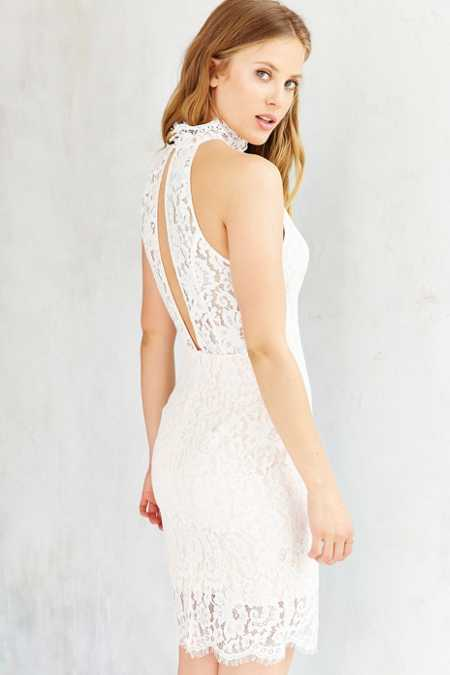 Keepsake One Night Lace Dress