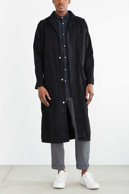 Urban Renewal Vintage Railroad Maxi Coat