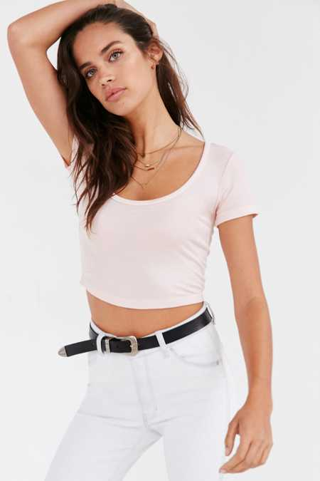 Truly Madly Deeply Cropped Layer Cake Tee