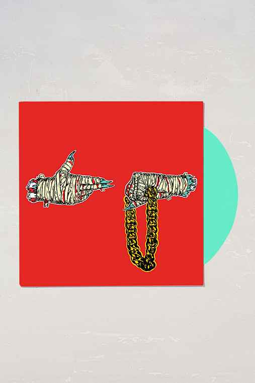 El-P + Killer Mike - Run The Jewels LP,TEAL,ONE SIZE