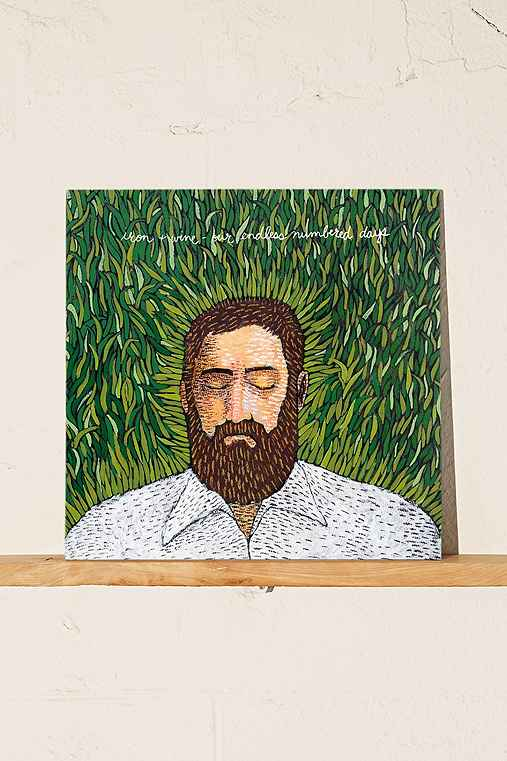 Iron & Wine - Our Endless Numbered Days LP,BLACK,ONE SIZE