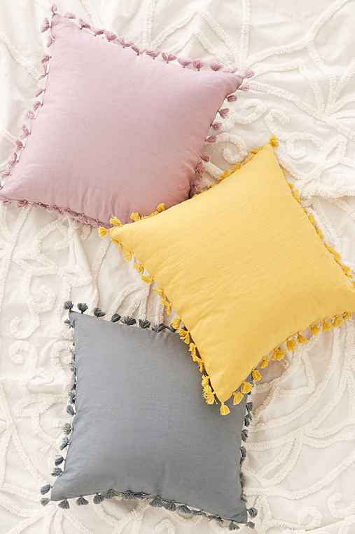 Decorative Pillows With Tassels : Magical Thinking Avery Tassel Pillow - Urban Outfitters