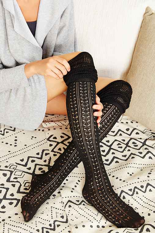 Youtube learn how to knit thigh high socks