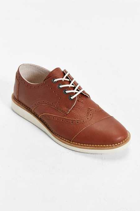 TOMS Leather Brogue Shoe